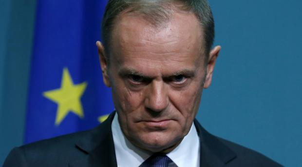 Donald Tusk, President of the European Council, said it was up to the UK Government to come forward with a