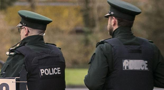Police recovered a firearm while searching a quarry area in Dungiven