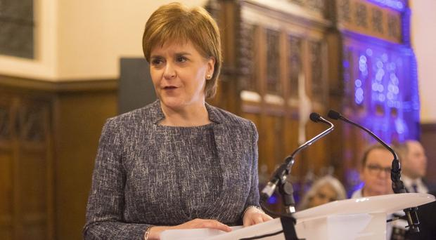 Nicola Sturgeon made the comments as Britain and the European Union appear to be moving closer to agreement on key issues