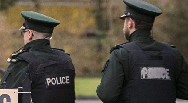 Police recovered weapons and munition in north Belfast.