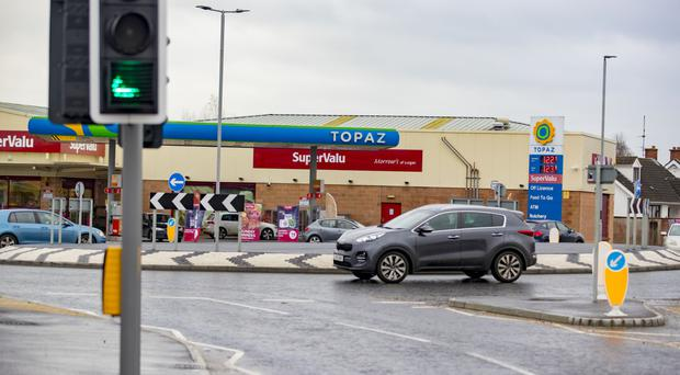 The roundabout in Lurgan