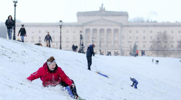 Northern Ireland to be hit by snow, sleet and hail