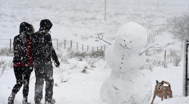 Snow disrupts flights, roads across Europe
