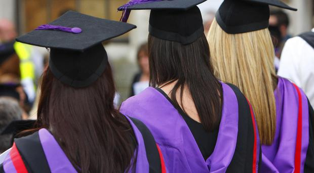 On average, a third of 18-year-olds in England went on to study for a degree this autumn, statistics show