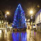 After the revamp - Newry's Xmas tree
