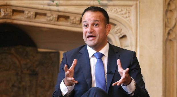 Peace call: Leo Varadkar
