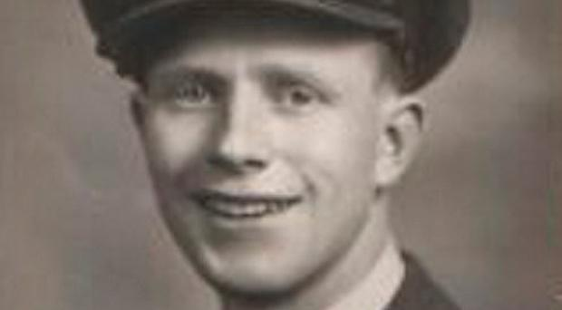Alfie Martin as young RAF man