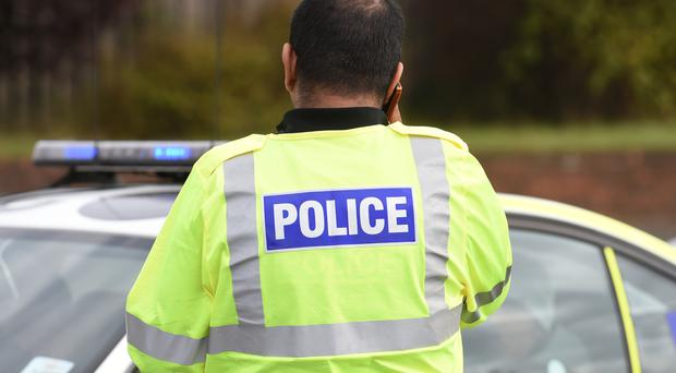 Armed robbers targeted a premises in Ballynure