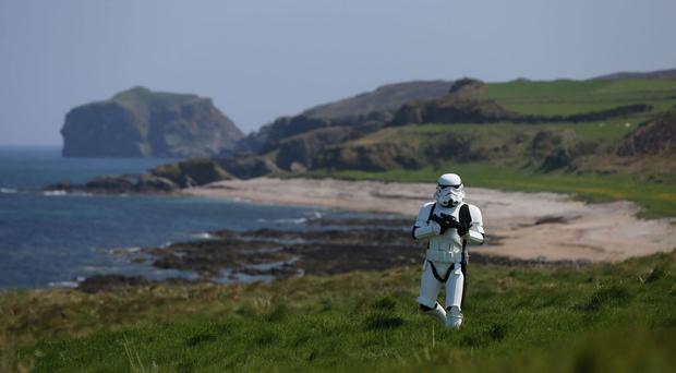 Star Wars arrives in Malin Head, Co Donegal