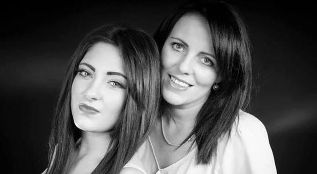 Murder victim Jayne Toal Reat with daughter Charlotte Reat