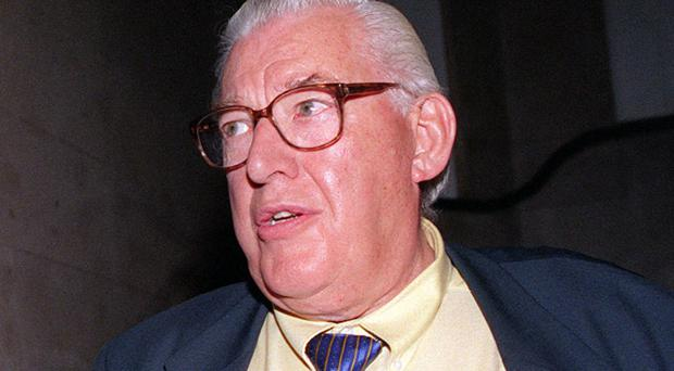 File photo dated 07/08/13 of former DUP leader Ian Paisley (right) and former deputy leader Peter Robinson. The Rev Ian Paisley favoured religious fundamentalists over his DUP deputy leader Peter Robinson during the first roundtable peace talks between the main parties in Northern Ireland, records disclosed.