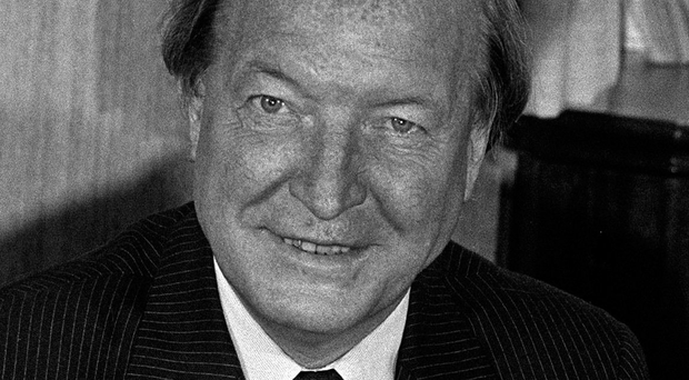Personal touch: Charles Haughey