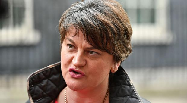 DUP leader Arlene Foster said the continued absence of a devolved executive was unacceptable