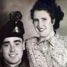 Joseph McMulkin, during his army days, with wife Margaret