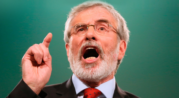 Gerry Adams said the British and Irish Governments need to step in to make sure past agreements are honoured