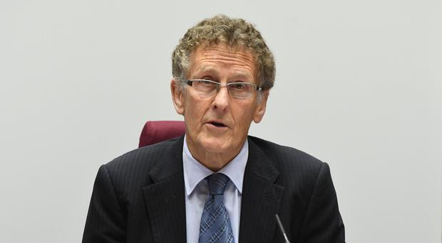 RHI inquiry chair Sir Patrick Coghlin