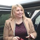 Karen Bradley arrives in Belfast on her first visit as Northern Ireland Secretary