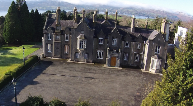 Rostrevor House is set on 29 acres outside the village