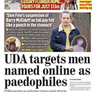 Concern: Yesterday's front page