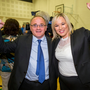 Sinn Fein's Barry McElduff celebrates becoming MP for West Tyrone with the party's leader in Northern Ireland, Michelle O'Neill, in June last year