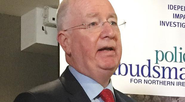Northern Ireland Police Ombudsman Dr Michael Maguire