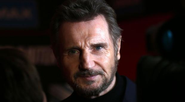 Liam Neeson's latest film is The Commuter