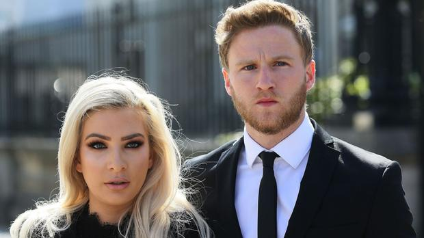Attorney General John Larkin QC and a Stormont department are both appealing the decision that Belfast model Laura Lacole and her international footballer partner Eunan O'Kane were treated unlawfully because of their belief system.