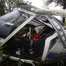 The light aircraft following the crash at Castlewellan Forest Park last year