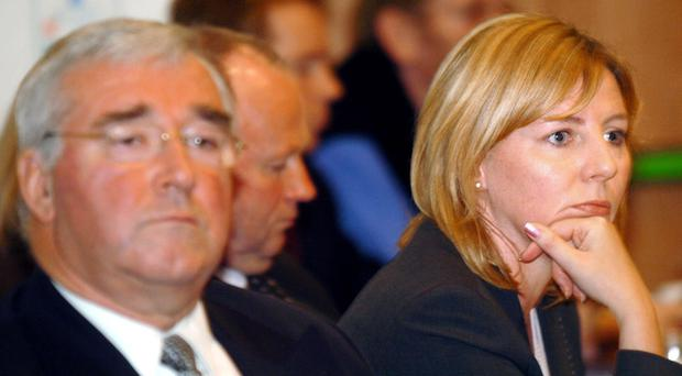 Janice McAleese, former chief executive of the NI Events Company and Mervyn Elder, the former chair of the board who has accepted a nine-year ban