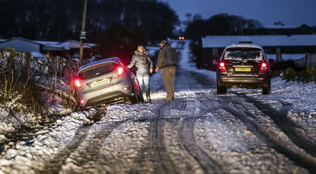 Up to four inches of snow expected in parts of Northern Ireland