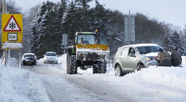 Snow and ice warning extended to cover all of Sussex