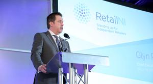 Retail NI chief executive Glyn Roberts warned against a rates rise (Press Eye/PA)