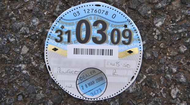 There have been a significant rise in road tax evasion rates due to vehicles wrongly declared off the road (PA Images/ Ben Birchall)