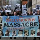 Relatives of the dead have called the killings the Ballymurphy Massacre (Niall Carson/PA)