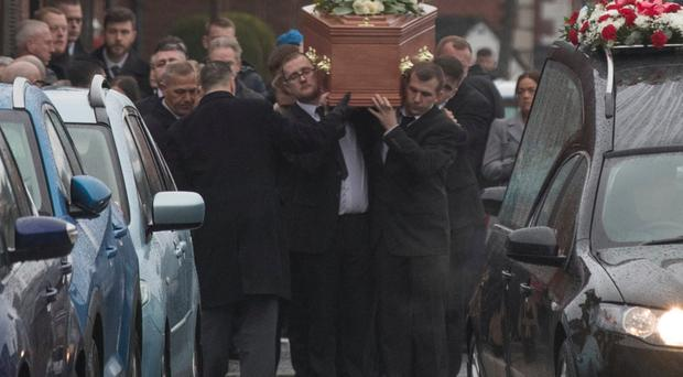 Funeral of Stuart Robinson