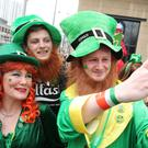St Patrick's Day celebrations in Belfast last year