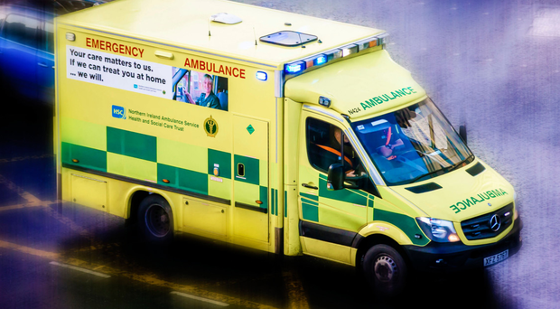 Two rapid response paramedics, one A&E crew and the Air Ambulance attended the scene (stock photo)