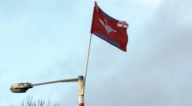 Provocative: Flag in Newbuildings