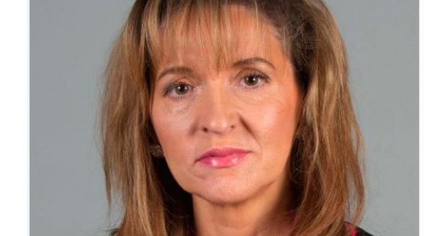 St Cecilia's College in Londonderry tweeted a photograph of Sinn Fein MEP Martina Anderson, describing her as