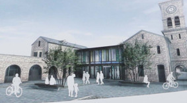 An artists's impression of how the former Waterside train station might look