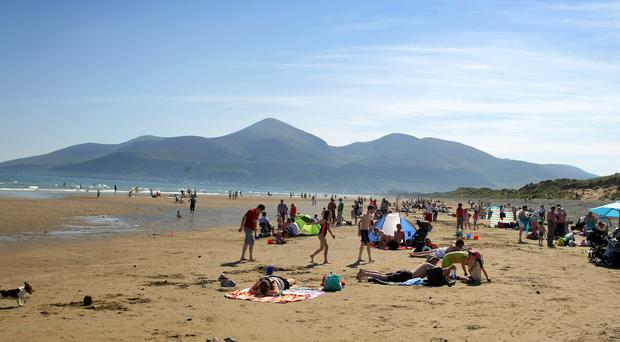 Horse riders can still access Murlough Beach, but not via the nature reserve