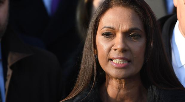 Gina Miller is challenging the government over the process used for distribution of the money secured by the DUP.