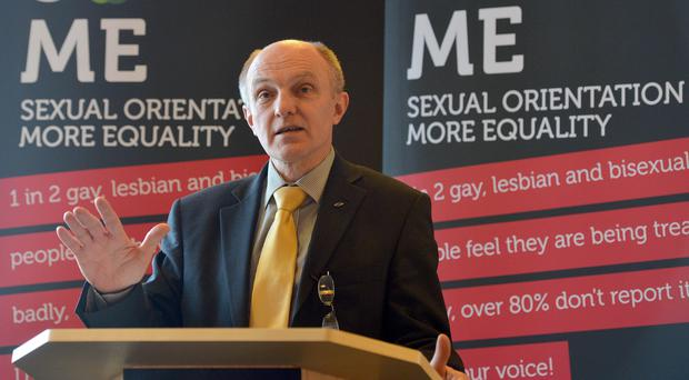 Michael Wardlow, chief commissioner with the Northern Ireland Equality Commission (Equality Commission/PA)