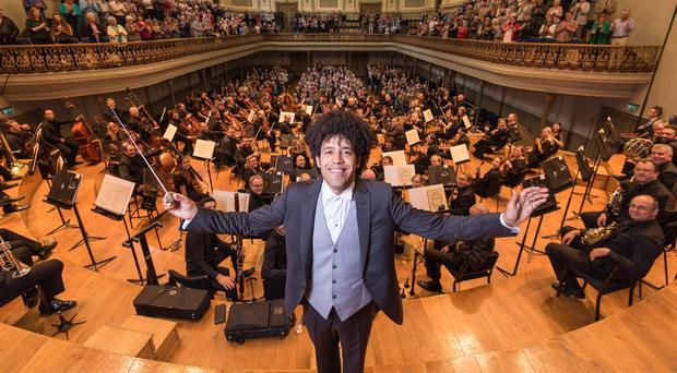 The Ulster Orchestra, conducted by Rafael Payare, and MAC have benefited from funding