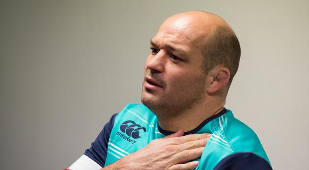 Rory Best is set to lead the Irish team out against France in Paris in the Six Nations on Saturday (Ian Rutherford/PA)