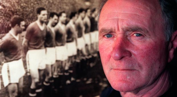 Crash hero: Harry Gregg