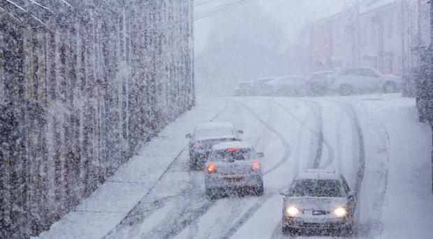 WEATHER WARNING: Ice and snow on the way for Northern Ireland