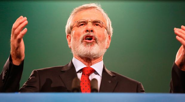 TV3 insight: Gerry Adams