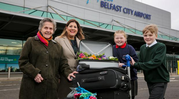 Northern Ireland Best Kept Awards take off at Belfast City Airport: The 2018 Northern Ireland Best Kept Awards are officially open. Doreen Muskett MBE, President of the Northern Ireland Amenity Council, and Michelle Hatfield, Director of HR and Corporate Responsibility at title sponsor George Best Belfast City Airport, are joined by pupils from the airport's Adopted Schools - St. Malachys Primary School and Seaview Primary School - to officially launch the search for the 'Best Kept' places across the country. It is the second year that the airport has sponsored the awards initiative, which aims to identify and celebrate Northern Ireland's best looked-after towns, villages, schools, healthcare facilities, housing areas and individual community achievers, with 90 awards presented at three separate ceremonies throughout the year.
