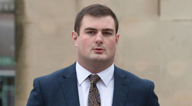 Rory Harrison at court yesterday